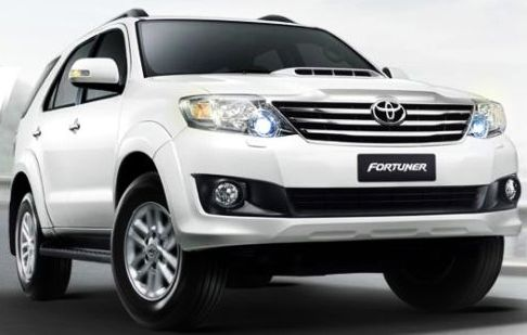 New Toyota Fortuner 2013